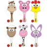 Houten racket boerderij dieren