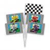 Formule 1 zwaaivlaggen (8 st.)
