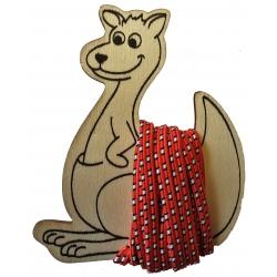springelastiek kangoeroe