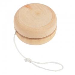 blank houten jojo