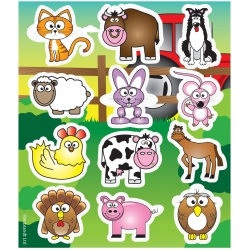 Fun stickers boerderij