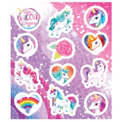 Fun stickers unicorn