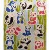 Fun stickers panda