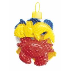 Dantoy zandbakvormen zeedieren (4 sts)