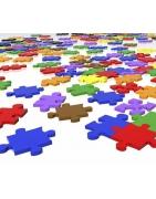 puzzel, puzzel koffer, leer puzzel, landen puzzel,